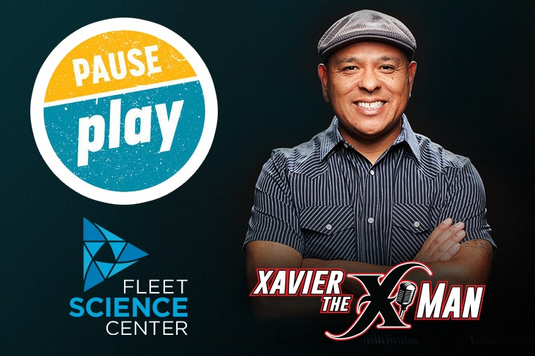 5f806e931cf Enter to win a 4-Pack of tickets to join Xavier The X-Man during our  exclusive Magic 92.5 Night at the Fleet Science Center on Thursday