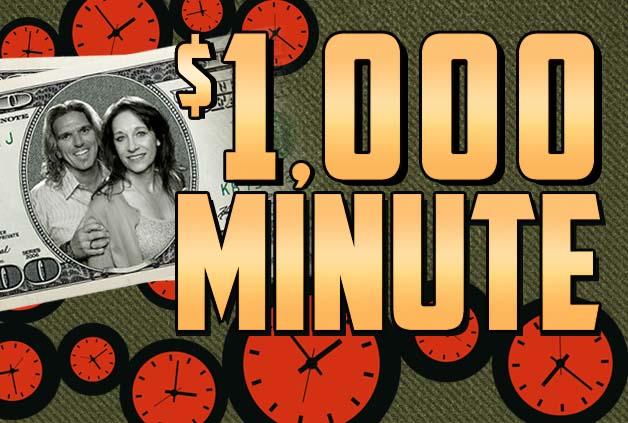 Jagger & Kristi $1,000 Minute - Magic 92 5